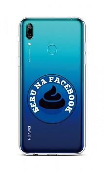 Zadní silikonový kryt na Huawei Y6 2019 Facebook