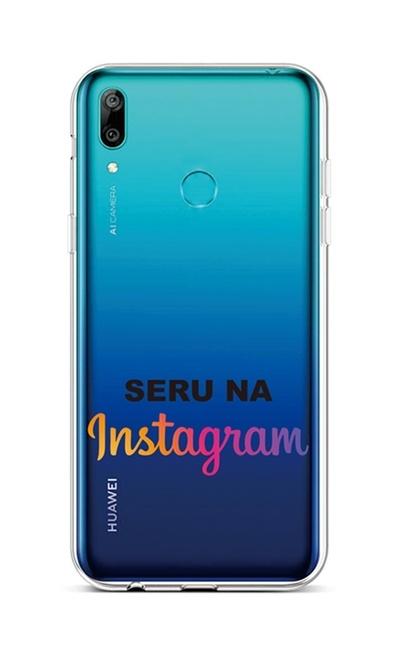 Zadní silikonový kryt na Huawei Y6 2019 Instagram