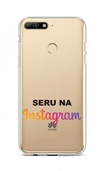 Zadní silikonový kryt na Huawei Y6 Prime 2018 Instagram