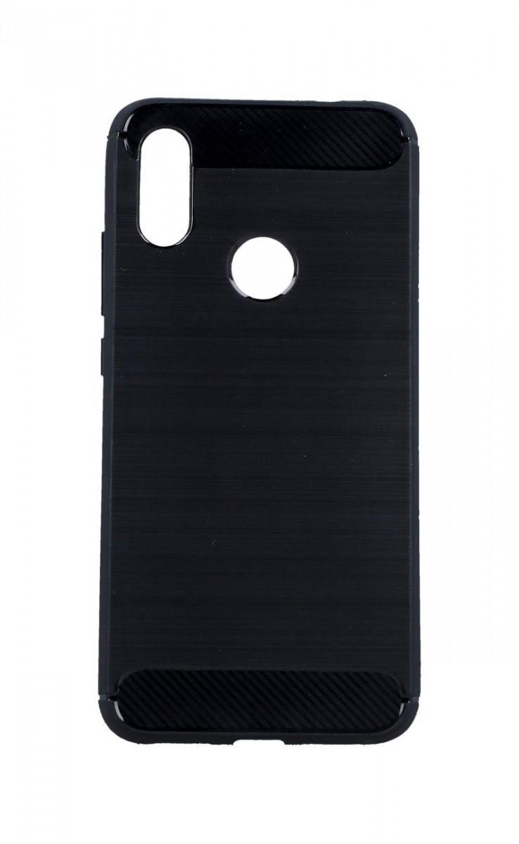 Kryt TopQ Xiaomi Redmi 7 silikon černý 43191 (pouzdro neboli obal na mobil Xiaomi Redmi 7)
