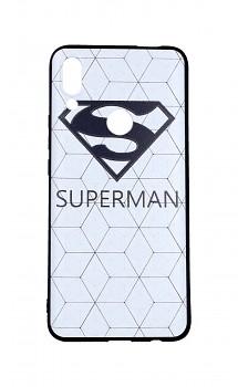 Zadní 3D silikonový kryt na Huawei P Smart Z Bílý Superman