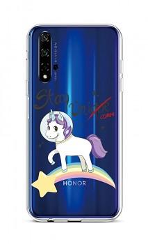 Zadní silikonový kryt na Honor 20 Stay Unicorn