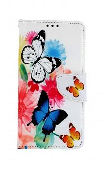 Knížkové pouzdro na Xiaomi Mi 9T Barevné s motýlky