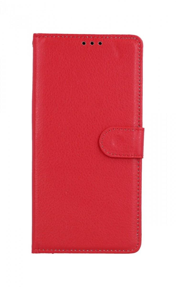 Knížkové pouzdro na Huawei P Smart Z červené s přezkou