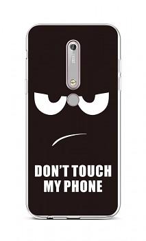 Zadní silikonový kryt na Nokia 6.1 Don't Touch