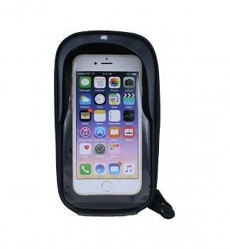 Pouzdro B-SOUL mobilní telefon na kolo šedé 5,5''