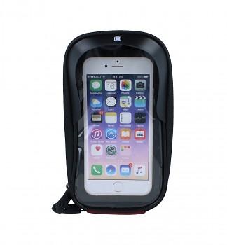 Pouzdro B-SOUL mobilní telefon na kolo červené 5,5''