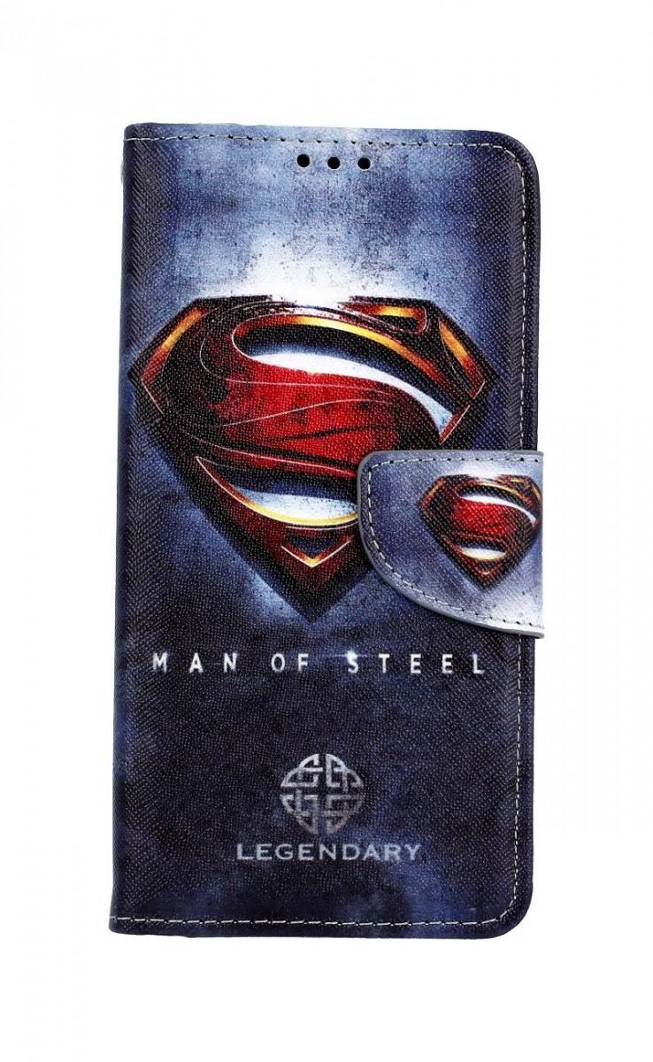 Pouzdro TopQ Honor 20 knížkové Superman 2 43654 (kryt neboli obal Honor 20)