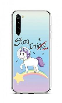 Zadní silikonový kryt na Xiaomi Redmi Note 8 Stay Unicorn