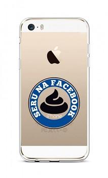 Zadní silikonový kryt na iPhone 5 - 5S - SE Facebook