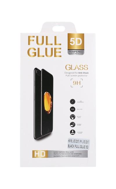 Tvrzené sklo FullGlue na Samsung A50 5D černé 44003 (ochranné sklo Samsung A50)