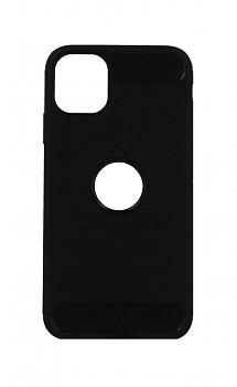 Zadní silikonový kryt na iPhone 11 černý