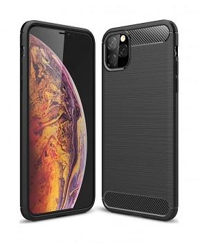 Zadní silikonový kryt na iPhone 11 Pro černý