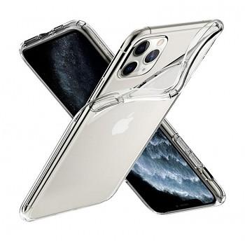 Ultratenký silikonový kryt na iPhone 11 Pro Max 0,5 mm průhledný
