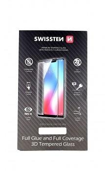 Tvrzené sklo Swissten na iPhone 11 3D zahnuté černé
