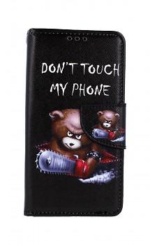 Knížkové pouzdro na Xiaomi Redmi 7A Don't Touch méďa