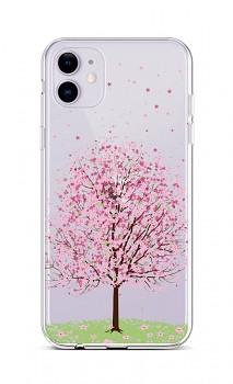 Zadní silikonový kryt na iPhone 11 Blossom Tree