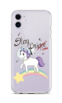 Zadní silikonový kryt na iPhone 11 Stay Unicorn