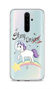 Zadní silikonový kryt na Xiaomi Redmi Note 8 Pro Stay Unicorn