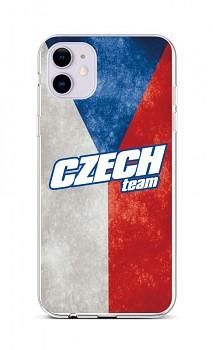 Zadní silikonový kryt na iPhone 11 Czech Team