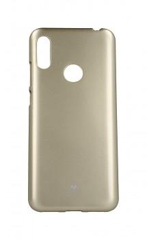 Zadní silikonový kryt Mercury Jelly Case na Huawei Y6 2019 zlatý