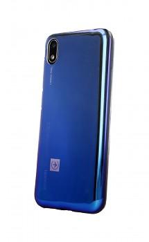 Zadní silikonový kryt na Huawei Y5 2019 Ombre Glaze fialový tmavý