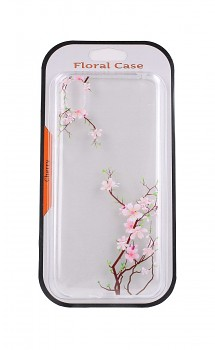 Zadní silikonový kryt na Huawei Y5 2019 Cherry Blossom