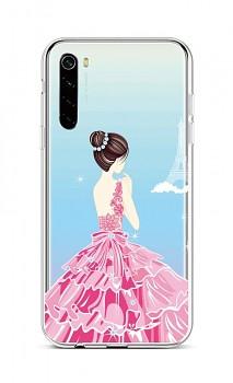 Zadní silikonový kryt na Xiaomi Redmi Note 8 Pink Princess