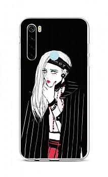 Zadní silikonový kryt na Xiaomi Redmi Note 8 Dark Girl
