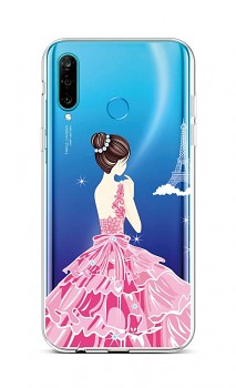 Zadní silikonový kryt na Huawei P30 Lite Pink Princess
