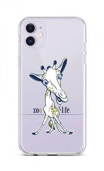 Zadní silikonový kryt na iPhone 11 Zoo Life