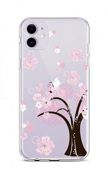 Zadní silikonový kryt na iPhone 11 Cherry Tree