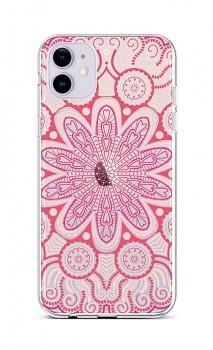 Zadní silikonový kryt na iPhone 11 Romantic Mandala