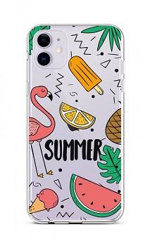 Zadní silikonový kryt na iPhone 11 Summer