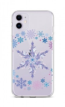 Zadní silikonový kryt na iPhone 11 Snowflake