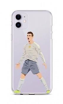 Zadní silikonový kryt na iPhone 11 Fotbalista