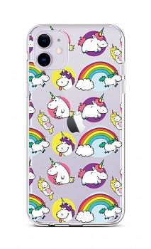 Zadní silikonový kryt na iPhone 11 Chunky Unicorns