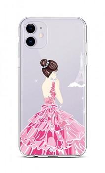 Zadní silikonový kryt na iPhone 11 Pink Princess