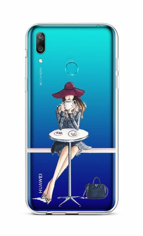 Zadní silikonový kryt na Huawei Y6 2019 Lady 6