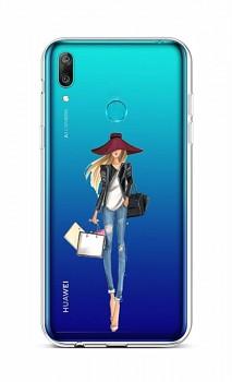 Zadní silikonový kryt na Huawei Y6 2019 Lady 2