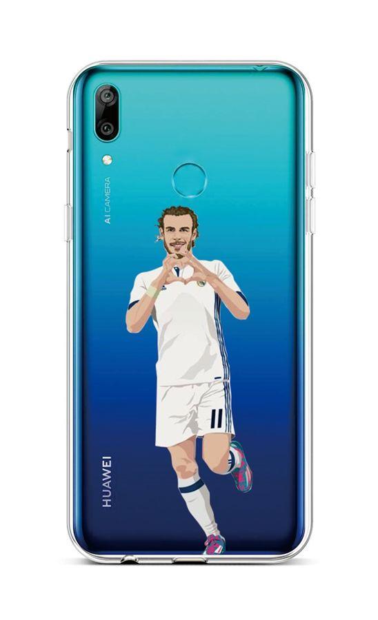 Zadní silikonový kryt na Huawei Y6 2019 Fotbalista 2