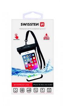 """Vodotěsné pouzdro na mobil Swissten IPX8 6.0"""" černé"""