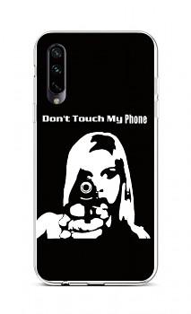 Zadní silikonový kryt na Xiaomi Mi A3 Don't Touch Gun