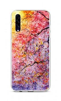 Zadní silikonový kryt na Samsung A30s Abstract Tree