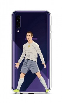 Zadní silikonový kryt na Samsung A30s Fotbalista