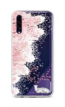 Zadní silikonový kryt na Samsung A30s Blooming Deer
