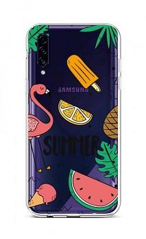 Zadní silikonový kryt na Samsung A30s Summer