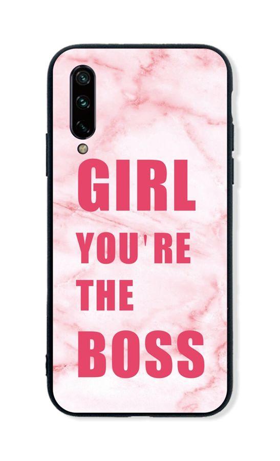 Zadní pevný kryt LUXURY na Xiaomi Mi A3 Girl Boss