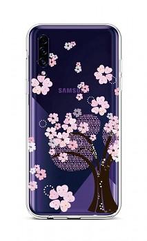 Zadní silikonový kryt na Samsung A30s Cherry Tree
