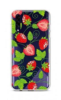 Zadní silikonový kryt na Samsung A30s Strawberries